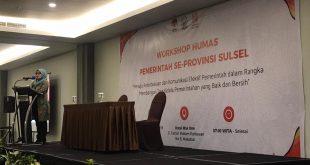 Tingkatkan Kapasitas Humas Pemerintah Daerah, Pemprov Sulsel - KPK Gelar Workshop